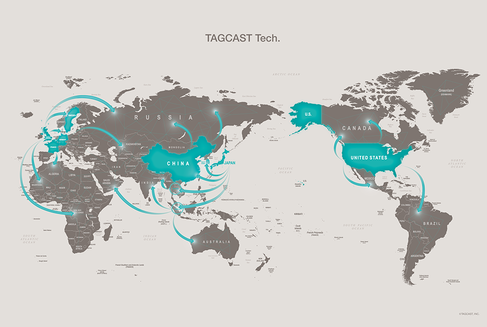 tagcast tech map